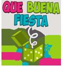 Recreación Que Buena Fiesta Logo